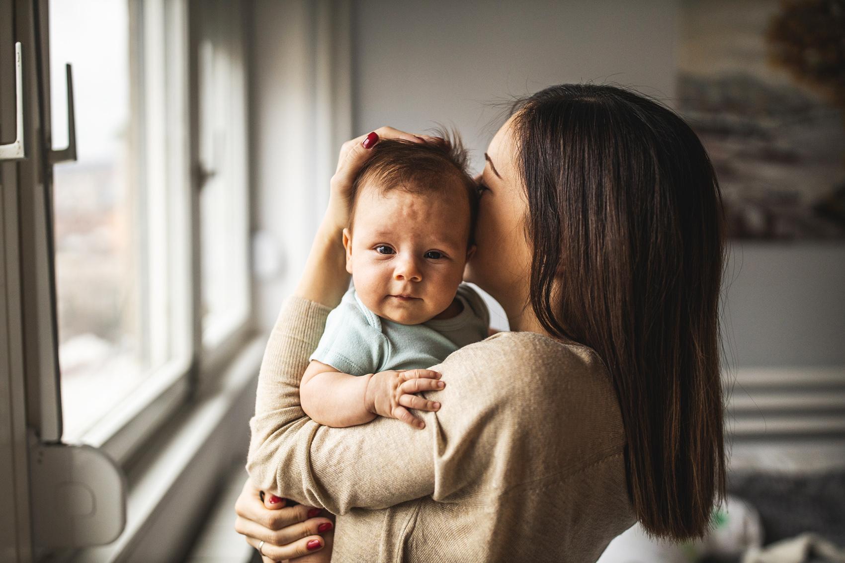 Chrypka u niemowlaka