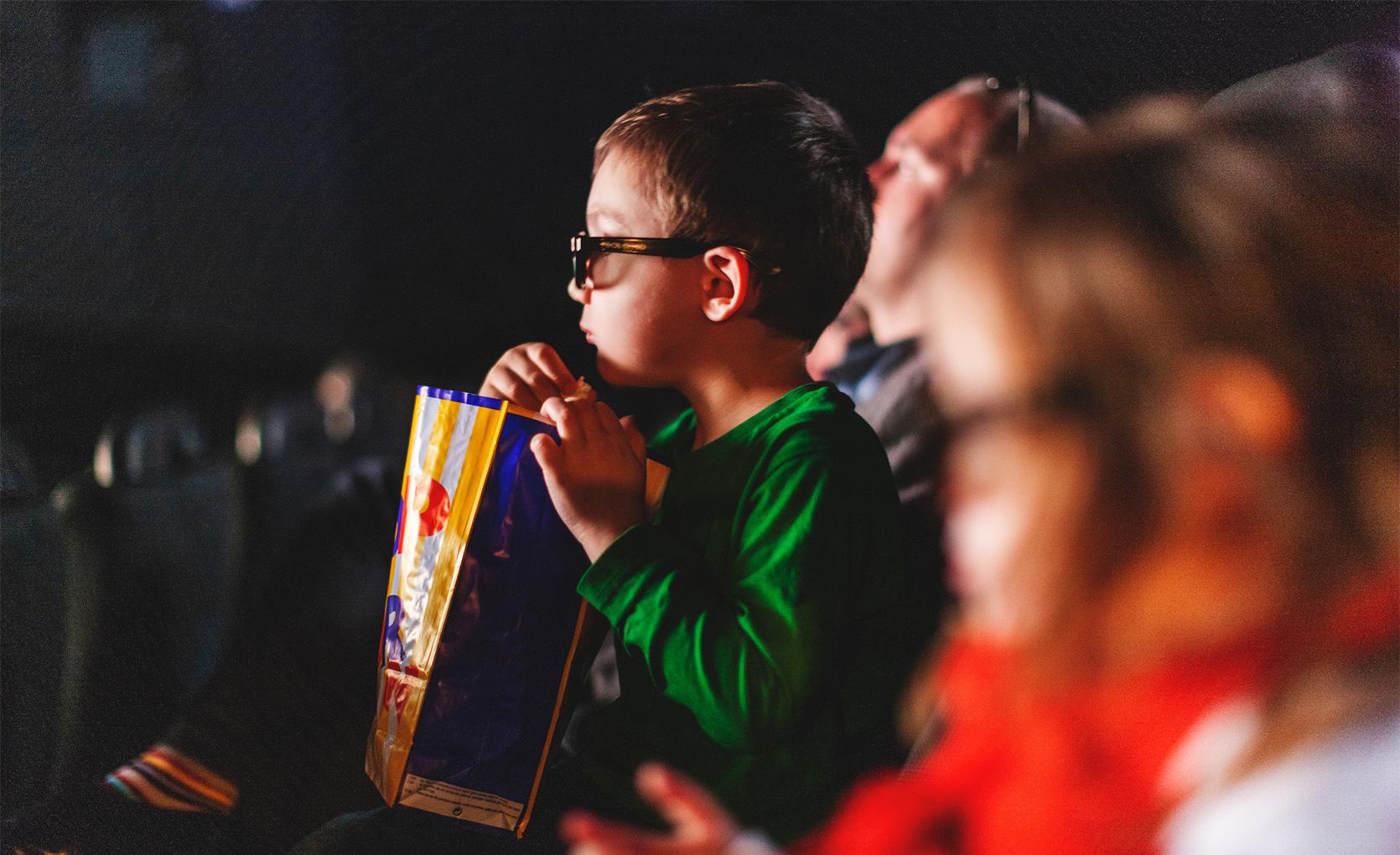 Wspaniała moc kina dla dzieci