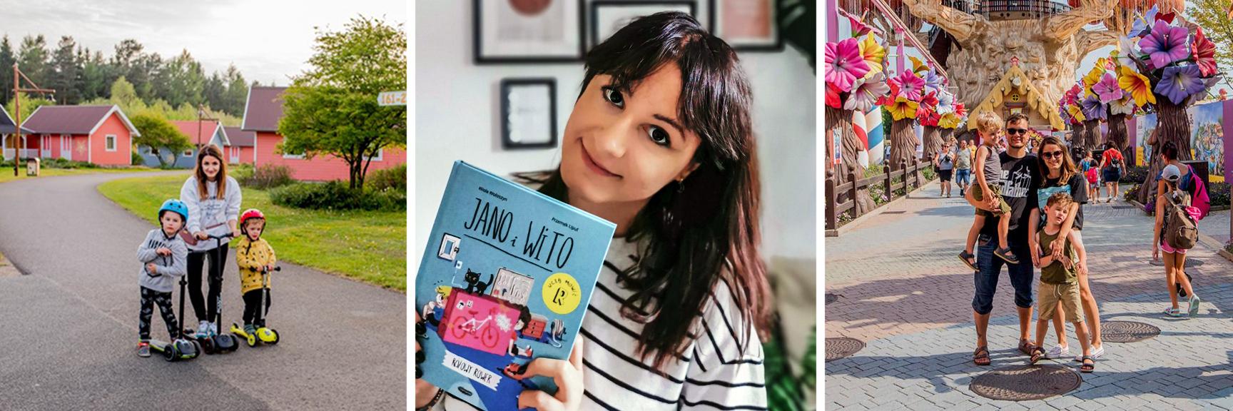 """""""Były trzy momenty, kiedy myślałam, że Jano i Wito nigdy nie ujrzą światła dziennego"""" – mówi Wiola Wołoszyn, autorka bestsellerowej serii dla dzieci"""