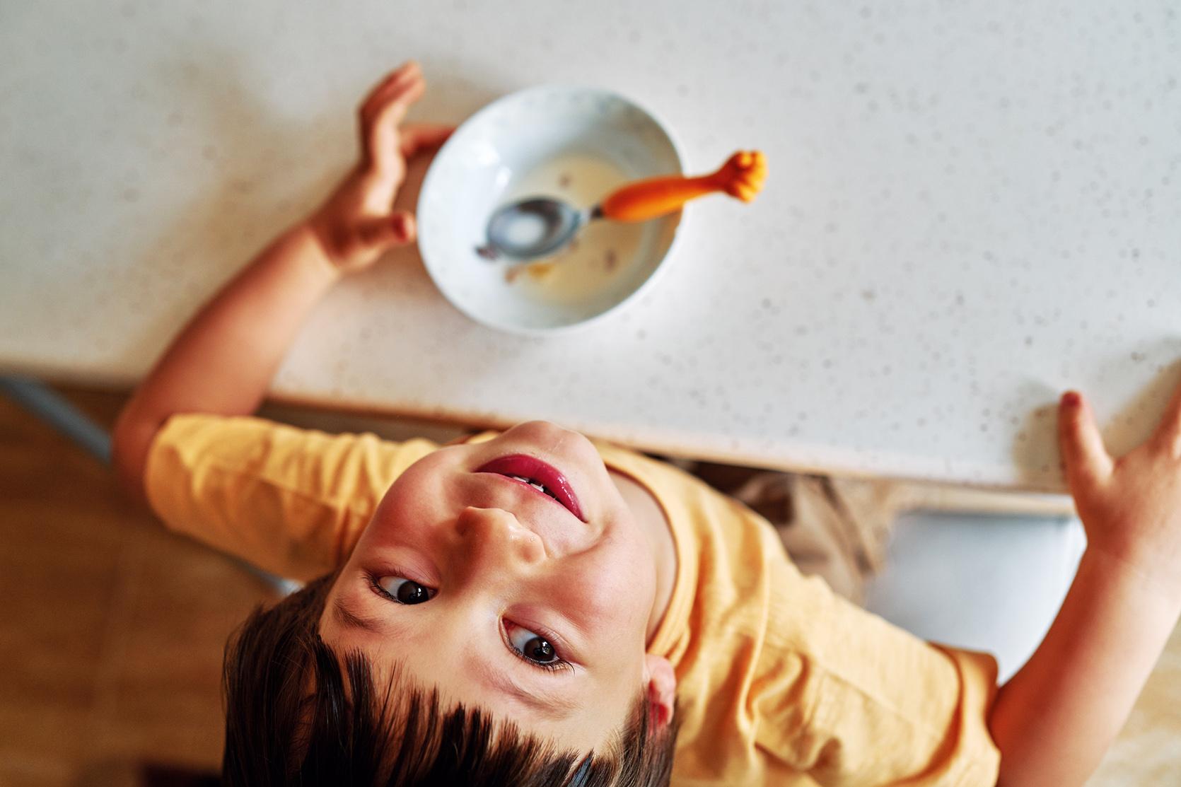 Dziecko wymiotuje po mleku