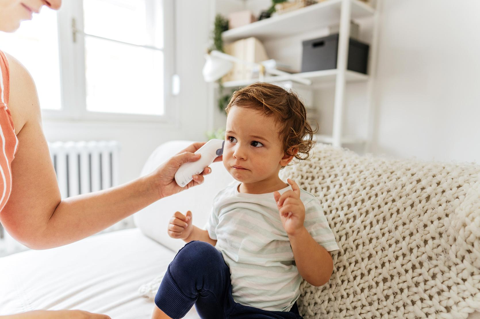 Gorączka u dzieci:  Jak dawkować leki przeciwgorączkowe?